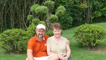 Gallery Geral: Luiz Paulo e Bonnie Gottier